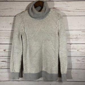 Liz Claiborne wool blend turtleneck chunky sweater